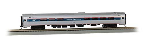 85' Budd Amtrak Passenger Car - Amfleet I Café Car - Northeast Regional Phase VI - HO - Car Budd Passenger