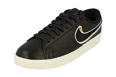 Nike Womens Blazer Low LX Trainers AV9371 Sneakers Shoes (UK 4 US 6.5 EU 37.5, Black Royal Tint Monarch 001)