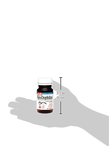 Kid's Kyo-Dophilus Probiotic Supplement (60 Tablets) Soy- Gluten-Free, Digestive Health Support by Kyolic (Image #2)