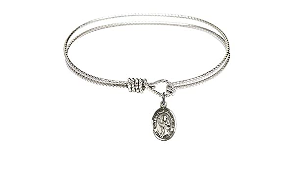 DiamondJewelryNY Sterling Silver St Joseph of Arimathea Pendant