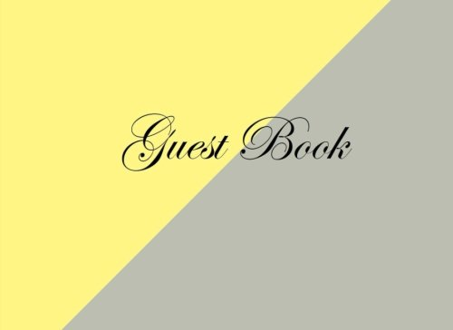 guest-book-gray-yellow-blank-pages-edition-classic-gray-yellow-option-on-sale-now-just-699-guest-boo