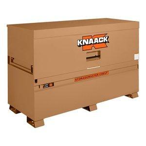 Knaack 90  Storagemaster Jobsite Storage Chest wtih Large Dual Folding (Steel Jobsite Boxes)