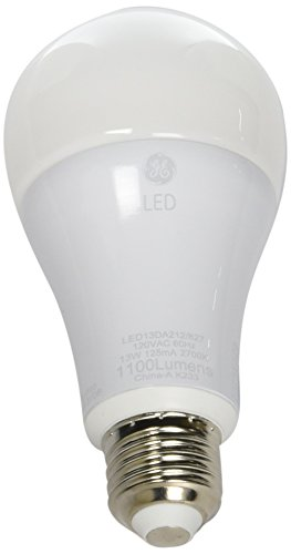 (GE Series 13W Dimmable Led A21 A-Shape Warm White 2700K 12422 Light Bulb-75W Equiv)