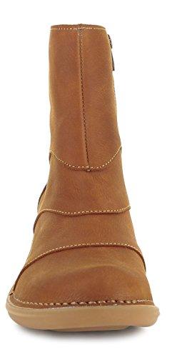 Damen Aqua Frauen N5328 Stiefelette El Bootie Reißverschluss Naturalista Damenstiefelette Stiefel Boot Halbstiefel O7wFxatqE