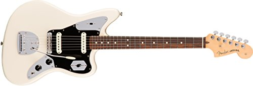 (Fender American Professional Jaguar - Olympic White w/Rosewood Fingerboard)