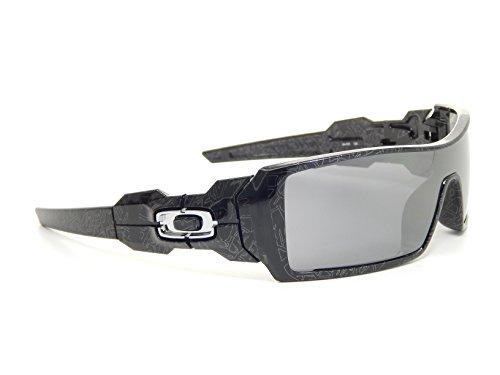 5e61236f91 ... where to buy amazon oakley oil rig 24 058 polished black silver text  black iridium sunglasses canada ...