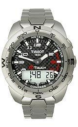 Tissot T Touch Expert Titanium T013.420.44.202.00 Compass Watch by Tissot