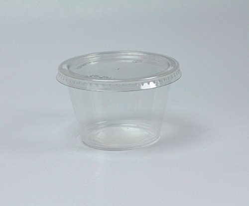 4 oz glass containers with lids - 7