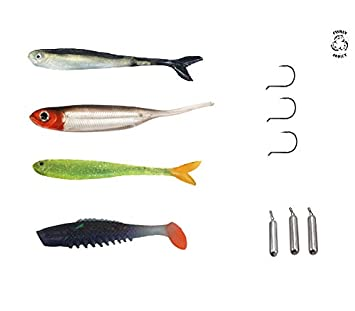 FISHIN ADDICT Drop Shot kit all in one GRAB N GO perch chub