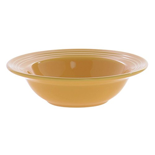 Tuxton CSD-066 Vitrified China Concentrix Grapefruit Bowl, 9 oz, 6-3/4