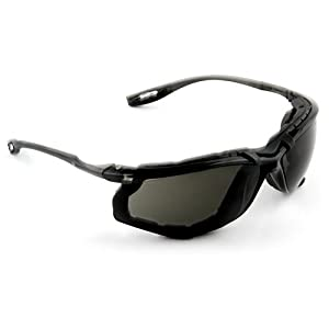 3M Virtua CCS Protective Eyewear 11873-00000-20, Foam Gasket, Anti Fog Lens, Gray