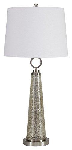 mercury glass table lamp small - 8