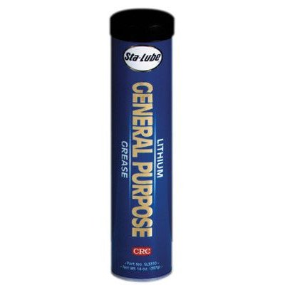 Lithium General Purpose Grease - 14-oz. gp lithium grease [Set of 10] by CRC