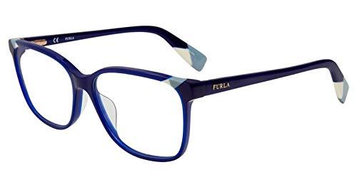 Eyeglasses Furla VFU 250 Blue 03GR