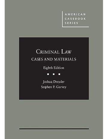 Amazon com: Criminal Law: Books: Law Enforcement, Criminal