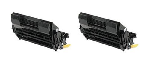 Clearprint 52123601 2-pack Compatible Black Toner Cartridges for Oki Data B710, B720, B730 Series