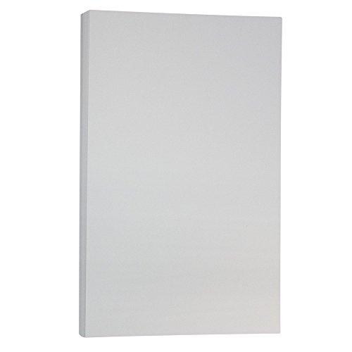 JAM Paper Vellum Bristol Legal Cardstock - 8 1/2