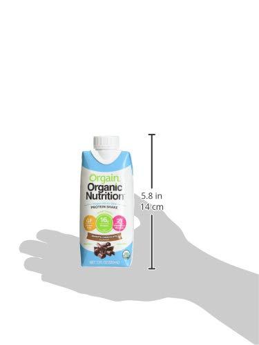 orgain licuado organicain suave Chocolate Vegano, 3.23 lb ...
