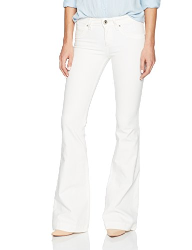 Dl1961 Women's Joy Flare Jeans In Milk, Milk, 28 by DL1961