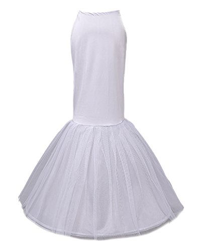 Nuziale Bianco Beauty Tutu Elasticizzato Gonna emily Petticoat qARXRwZn6