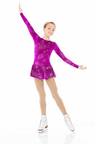 Mondor Born to Skate Glitter Velvet Dress 2723