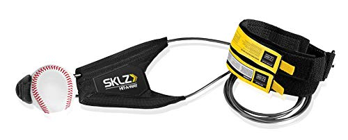 SKLZ Hit-A-Way Batting Swing Trainer for Baseball and Softball, Baseball (Best Baseball Swing Mechanics)