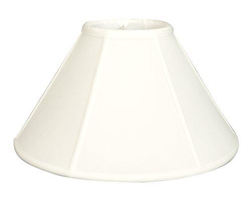 Royal Designs Empire Wall Lamp Shade, White, 5 x 13 x (Empire Wall Fixture)