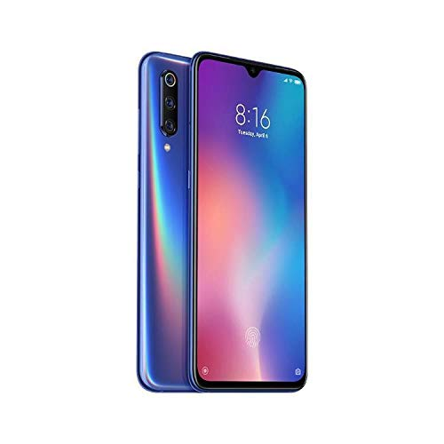 Xiaomi Mi 9 6GB RAM 64GB ROM Snapdragon 855 6.39 Inch Triple Camera Fingerprint Screen Smartphone Global Version -Ocean Blue ()