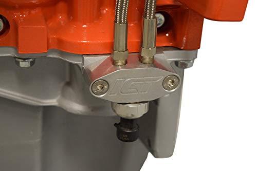 Oil Pan Pressure Sensor Adapter Port Dual 1/8