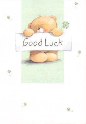 Amazon good luck forever friends greetings cards home kitchen good luck forever friends greetings cards m4hsunfo
