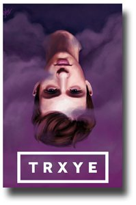 Troye Sivan Poster - TRXYE Promo Blue Neighbourhood - Purplre Cloud