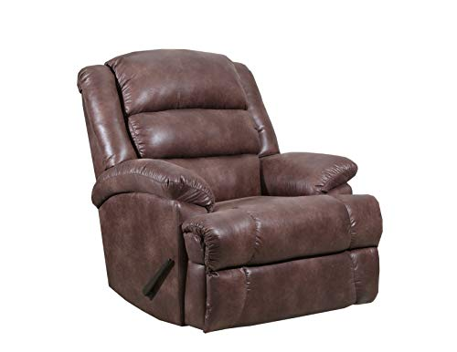 Mocha Glider Recliner - Lane Home Furnishings 4502-19 Padre Mocha Rocker Recliner Medium
