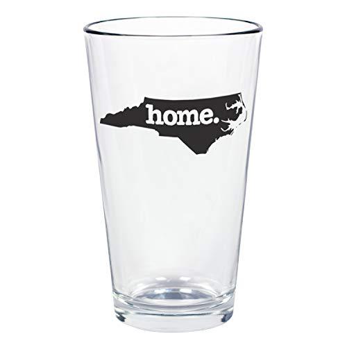 "Home State Apparel Set of 4 North Carolina""home."" Pint Glasses"