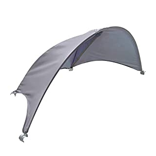 Summer Pop 'n Play Portable Canopy for Playard, Grey – Lightweight Play Pen Canopy, Blocks 98% of Harmful UVA/UVB Rays, Compatible with Summer Pop 'n Play Playards (Not Included)