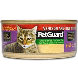 PetGuard Venison And Rice Dinner For Cats, My Pet Supplies