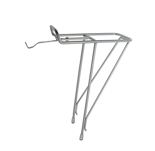Soma Front Alloy Rack, Silver