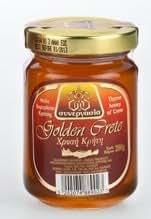 Greek Traditional Golden Thyme Honey From Crete - 200g