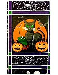 Halloween Jack-O-Lanterns, Black Cats, Ghosts and Owls Vinyl