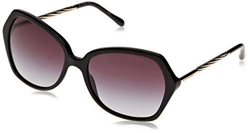 Burberry Women's BE4193 Black/Gradient Grey - Burberry Sunglasses Ladies