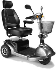 Active Care Medical - Prowler 3310 Series 3-Wheel Mid-Size Scooter