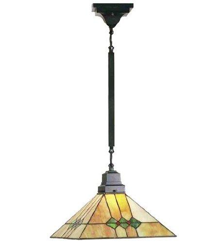 (Meyda Tiffany 49116 Lighting, 13 sq. in. in, Bronze/Dark)
