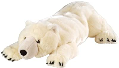 Wild Republic Cuddlekins Jumbo Bear Polar by Wild Republic