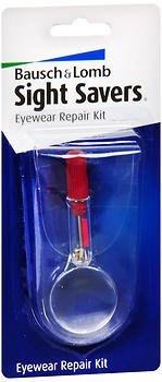 Bausch + Lomb Sight Savers Eyewear Repair Kit, Pack of - Bausch Lomb Sunglasses I's And