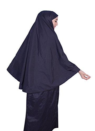 Muslim Women's Prayer Dress Pocket-Size Hijab Scarf Skirt Islamic Abaya by AJAR by Ajar (Image #4)