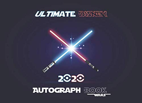 Ultimate Disney Autograph Book 2020: 50 Character Signatures Capture all of the Disney in this Autograph Book, Album Keepsake Gift, Blank Scrapbook, Memory Book, including Disneyland and Disney World