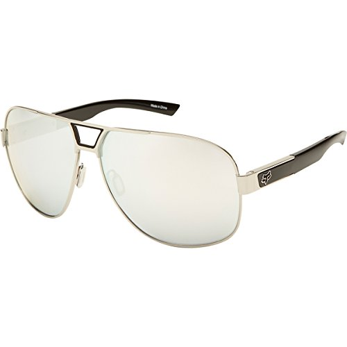 Fox The Moter 06327-901-OS Aviator Sunglasses,Polished Chrome & Chrome Spark,65 - Sunglasses Head Fox