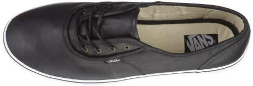Vans W CEDAR (Leather) Black VMAPL3A - Zapatillas de cuero para mujer, color marrón, talla Fällt aus Normal Negro