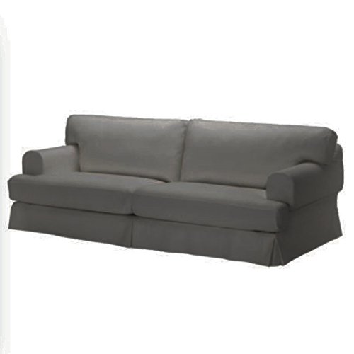 Replace Cover for IKEA Hovas Three Seat Sofa, 100% Cotton...