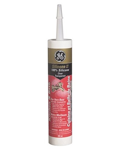 GE Silicone II Sealant, Tub & Tile White
