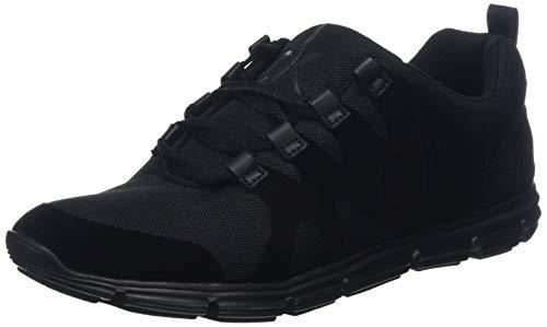 000 Jeans Murphy Noir Basses black Mesh Fine flocking Klein Calvin Sneakers Homme 4fP5xTqf